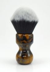 """AHS"" Custom - 24mm Soft Tuxedo Synthetic"