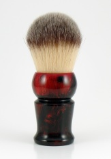 """Black Cherry"" Custom - 26mm Brown/White Synthetic"