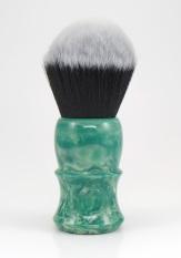 """Green Marble"" Custom - 26mm Soft Tuxedo Synthetic"