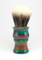 """""""Rainbow"""" Ebonite - 26mm Odin's Beard Fan"""
