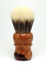 """Red Briar"" Briar/Resin Hybrid - 26mm Odin's Beard Bulb"
