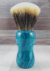TruStone Striped Chryosocolla - 24mm Odins Beard Fan