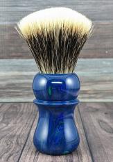 TruStone Banded Malachite/Azurite - 24mm Odins Beard Fan
