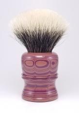 """Antik Rose I"" (ebonite) - 24mm Odin's Beard Fan"