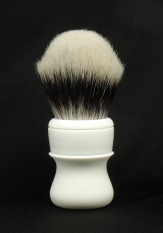 """Grooming Department IV"" Custom (Urethane Resin) - 28mm Synthetic Silvertip"