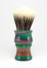 """""""Rainbow"""" Ebonite - Odin's Beard 26mm Fan"""